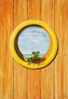 Frosch mit Aussicht